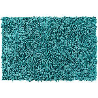 badvorleger Chenille80 x 50 cm Polyester grün