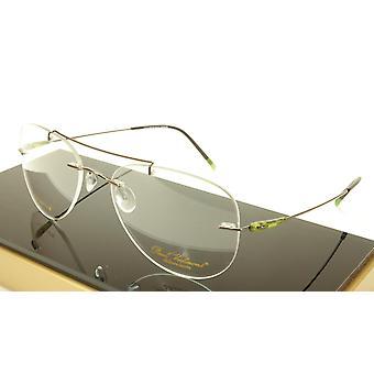 Paul Vosheront VT144 C1 Titanium Gunmetal Eyeglasses Frame Italy Made