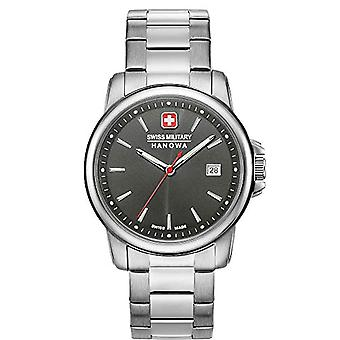 Swiss Military Hanowa Analogueic Watch Unisex Adult Quartz with Stainless Steel Strap 06-5230.7.04.009