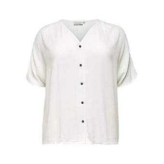 ONLY Carmakoma CARPATRO SS Shirt T, Cloud Dancer, 54 Woman