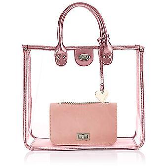 MARCO TOZZI 2-2-61032-24 bolsa de pulsera, rosa (rosa (rosa metálico).), 15x30x36 cm (B x H x T)