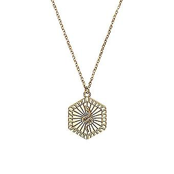 NOELANI Women's pendant necklace, sterling 925 gold-plated silver(2)