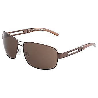 Carlo Monti - Solglasögon SCM100-142 Rektangulär, Man, Brun