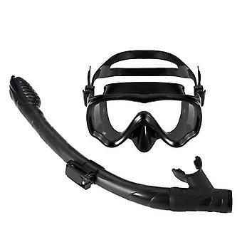 Kids Scuba Diving Mask Tube Set Snorkeling Mask Goggles Glasses Diving Swimming Easy Breath Dry Snorkel