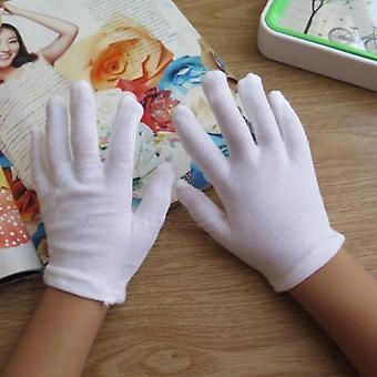 Luvas de algodão branco para crianças