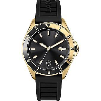 Lacoste 2011126 Men's Tiebreaker Black Rubber Strap Wristwatch