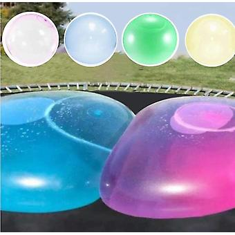 Kids Bubble Ball Toy Inflatable Water Ball Soft Rubber Ball