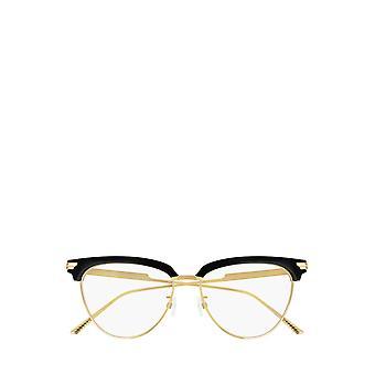 بوتيغا فينيتا BV1010O نظارات سوداء وذهبية أنثى