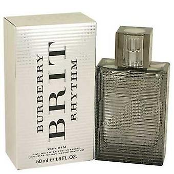 Burberry Brit rytmi Intense mennessä Burberry Eau de Toilette Spray 1,7 oz (miehet) V728-536939