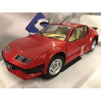 Renault Alpine A310 GT Red 1:18 Scale Solido S1801202
