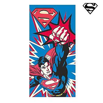 Superman strand håndklæde
