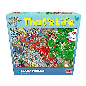 Puzzle That´s Life  Goliath Fire Station (1000 pcs)