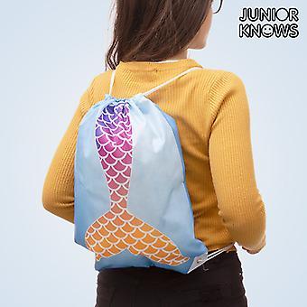 Junior vet sjöjungfru dragsko väska