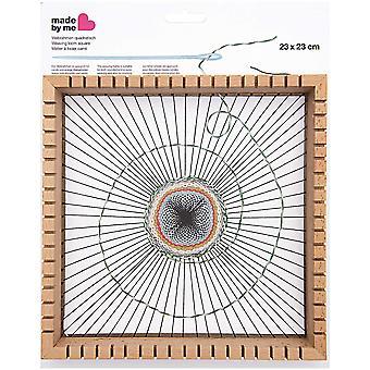 Square Weaving Loom With Slots - 23cm x 23cm
