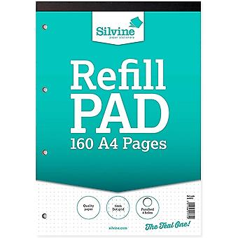 Silvine Dot Grid Layout A4 Refill Pad (Pack of 6)