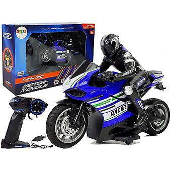 RC Motorrad - 2.4GHz - 35m Reichweite - blau