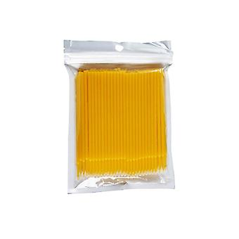 500kpl mikro kertakäyttöinen ripsien jatke puhdas harja