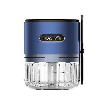 Deerma Mini - Sähköinen kopteri - Monitoiminen kaavin - Yleinen kopteri vihanneksille, hedelmille, sipulille, pähkinöille, valkosipulille, USB ladattavalle