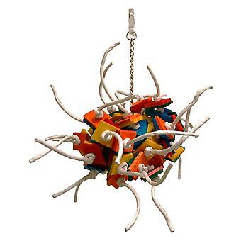 "Zoo-Max Fire Ball Bird Toy - Large 17""L x 14""W"