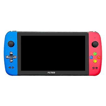 Video Game Console 7 Inch Quad Core HD LCD Screen 4000+ Games Retro Game Console Portable