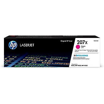 HP 207X magenta original High Capacity LaserJet Toner Cartridge, 3150 pages, M