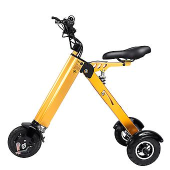 Stuff Certified® Ultra-light Electric Folding Smart e Scooter - 250W - 8 pouces - 3 roues - Pearl gold