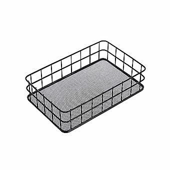 Eisen Desktop Aufbewahrungskorb Brot Obstkorb Kleinigkeiten Organizer Snacks Behälter Spielzeug Kosmetik