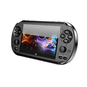 X1 4,3 Zoll Videospielkonsole 8 gb Speicher Handheld Retro Game Player Unterstützung TV-Out put mit mp3