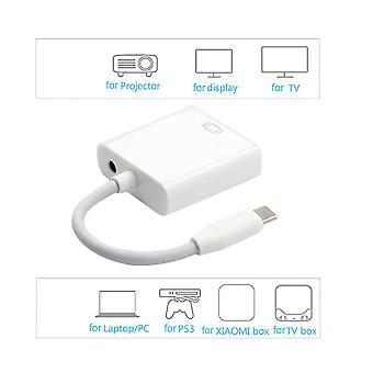 Usb 3.1 Tip-c USB masculin la feminin Vga adaptor cablu 10gbps pentru MacBook