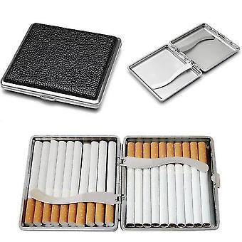 Boîte de 20 cigarettes Boîte en acier inoxydable Rangement