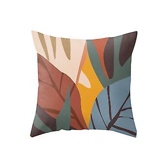 Geometryczny wzór Home Decor Comfort Poszewka na poduszkę Kwadratowa poduszka