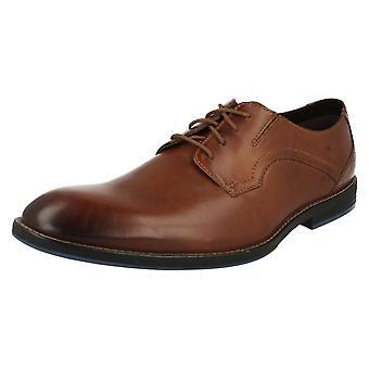 Mens Clarks formele schoenen Prangley lopen