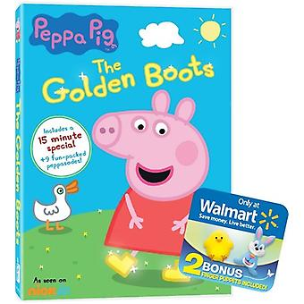 Peppa Pig: The Golden Boots [DVD] USA import