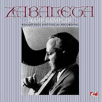 Nicanor Zabaleta - importation USA harpe Sampler [CD]