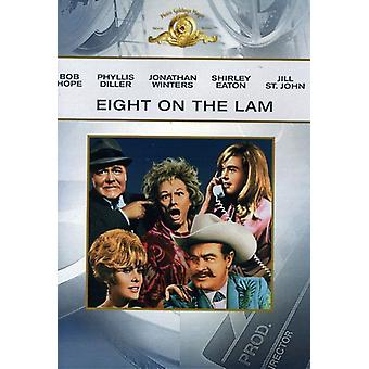 Eight on the Lam [DVD] USA import