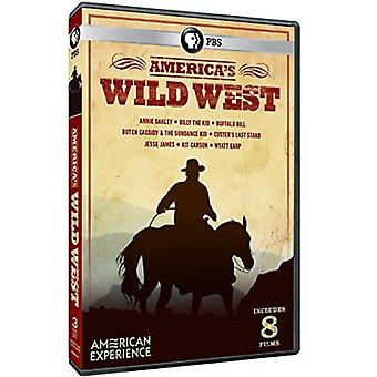 America's Wild West [DVD] USA import