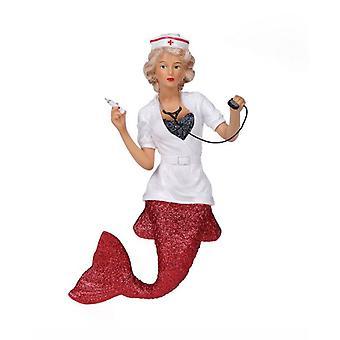 December Diamonds Nurse Naughty Mermaid Christmas Holiday Ornament