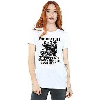 Die Beatles Frauen Lonely Hearts Club Band Freund Fit T-Shirt
