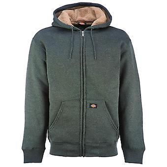 Dickies Sherpa Lined Fleece Hoodie grau