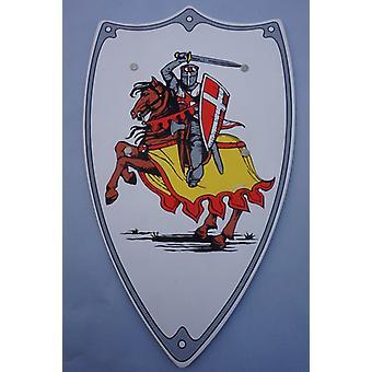 Tegn rider motiv rustning Knight Edelmann barn kostume