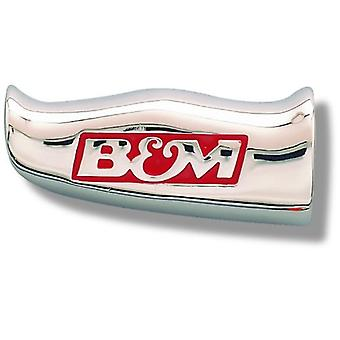 B&M 80643 Chrome Aluminum T-Handle Shifter Grip with SAE Thread Inserts