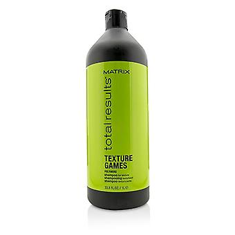 Matrix Total Results Texture Games Polymers Shampoo (for Texture) - 1000ml/33.8oz