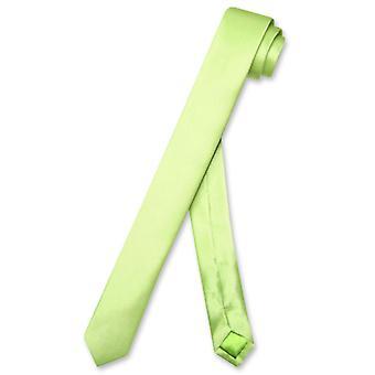 Biagio 100 % Seide schmale Krawatte EXTRA dünne Männer 1.5