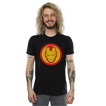 Marvel Men's Avengers Iron Man Simple Symbol T-Shirt