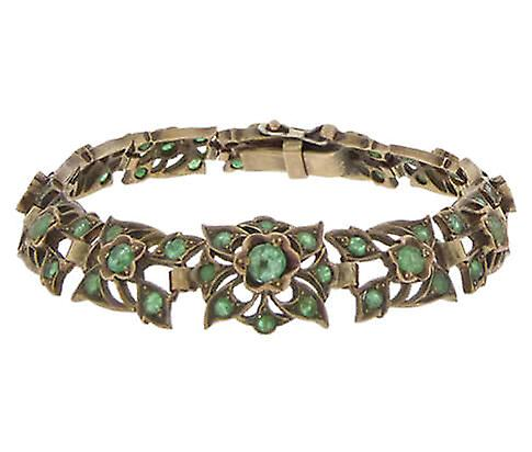 Armband met smaragd
