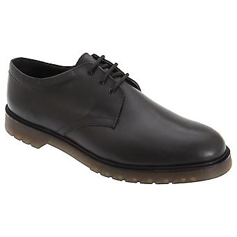 Maîtres greffeurs Mens Hi-Shine cuir lisse uniforme Chaussures Air amorti semelle