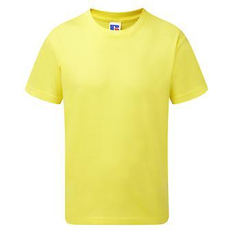 Camiseta de algodão de ajuste fino para crianças/crianças Jerzees Schoolgear