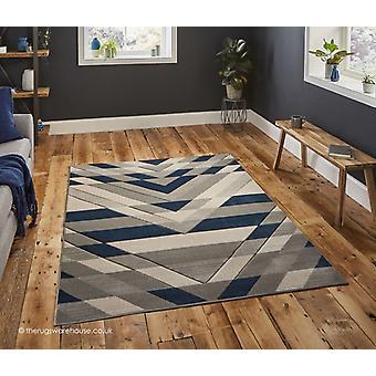 Sensor grijs blauw tapijt