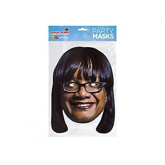 Diane Abbott British Politician 2D Card Party Fancy Dress Mask
