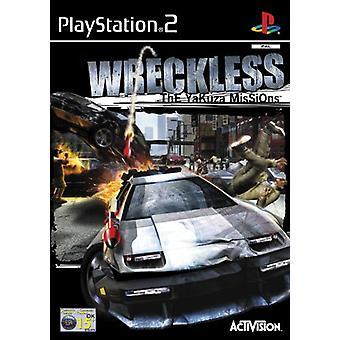 Wreckless (PS2) - Ny fabrik förseglad